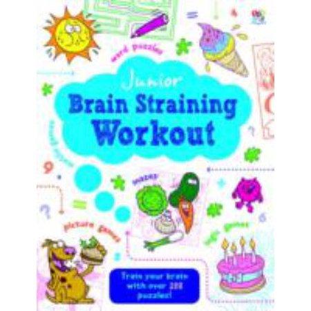 Junior Brain Straining Puzzle Book (Junior Puzzle Book) (Paperback)