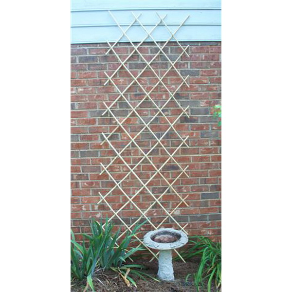 Bosmere L565 6ft x 4ft expanding bamboo trellis