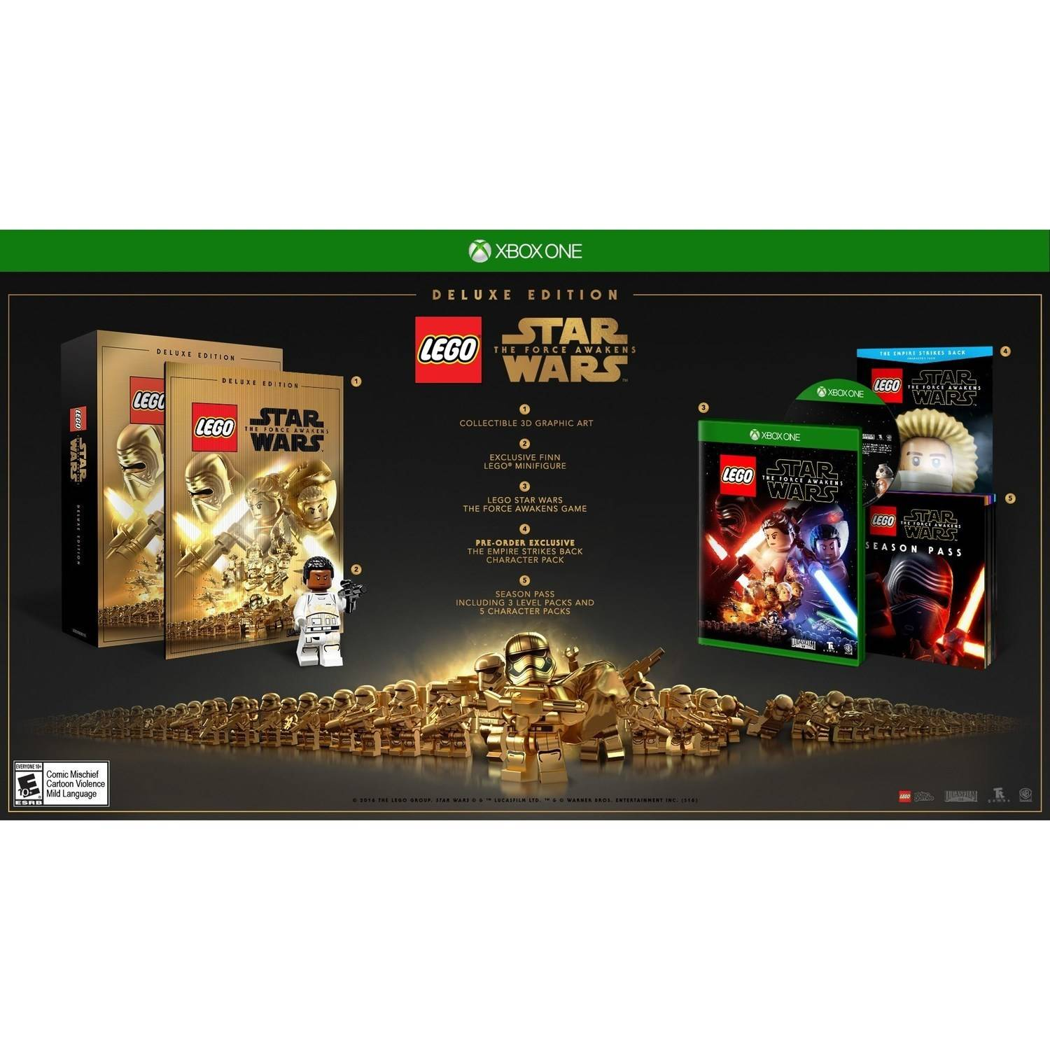 LEGO Star Wars The Force Awakens Deluxe Edition (Xbox One)