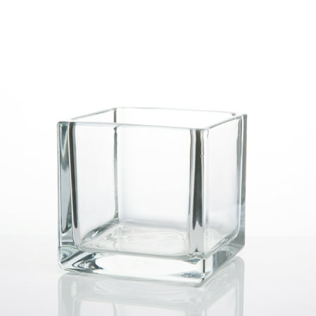Richland Square Glass Cube Vase 4