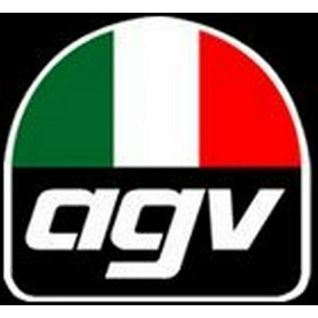 Agv Blade Helmet (AGV Helmet Small Peak Visor for Blade - Flat White)