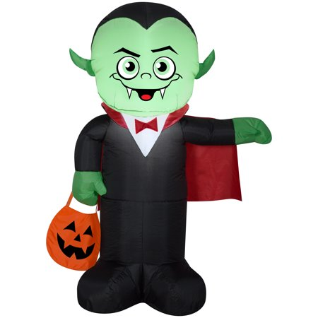 Halloween Airblown Inflatable Vampire 4FT Tall by Gemmy Industries - Halloween Sales Ads