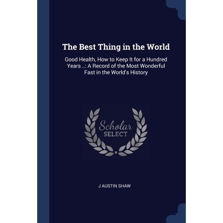 The Best Thing in the World (Paperback)