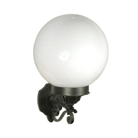 eTopLighting Esfera Collection Oil Rubbed Matt Black Finish Exterior Outdoor Lantern Light, Wall Lantern , WMLS2212 (Exterior Collection)