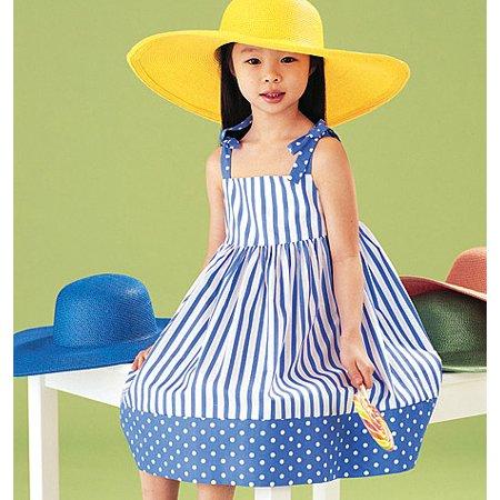 Children's Dress, Top, Short & Pants-2-3-4-5 *SEWING PATTERN*