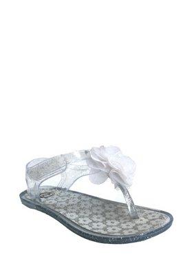 Wonder Nation Children's Jelly Sparkle Sandal