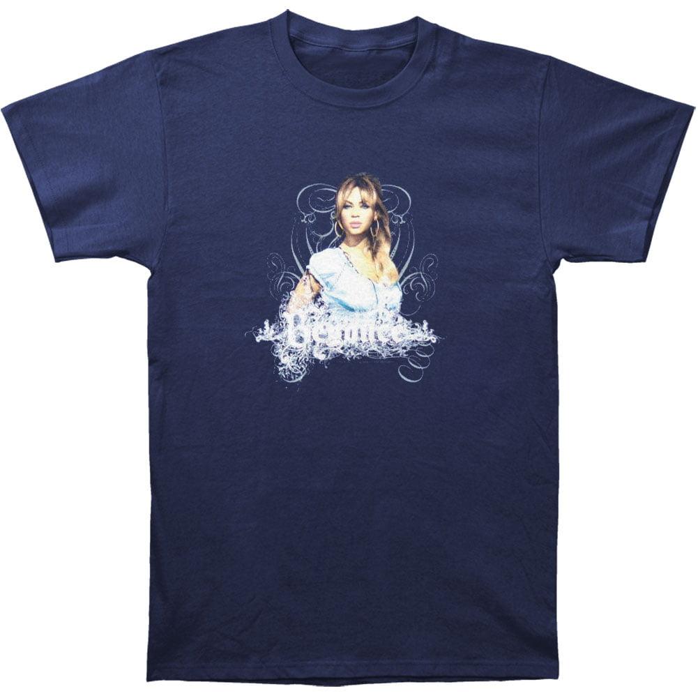 Beyonce Men's  Vines 07 Tour T-shirt Blue