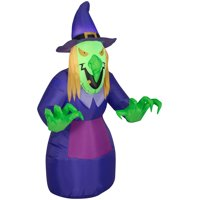 Deals on Airblown Inflatables Scary Witch 4-ft