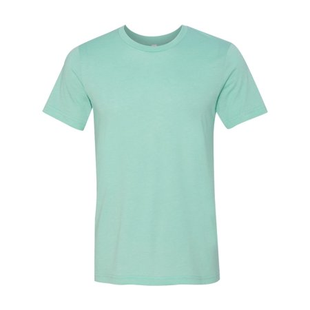 - 3001 Unisex Jersey T-Shirt - Heather Mint - XX-Large