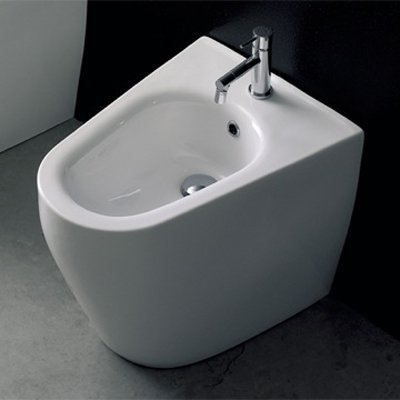 Scarabeo by Nameeks Tizi Floor Mounted Bidet
