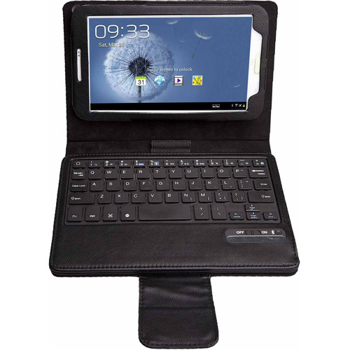 Estand Samsung 8.0 Galaxy Tab 3 Case with Removable Wireless Bluetooth Keyboard