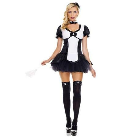 Music Legs 70455Q-3X-4X 4 Piece Plus Size Cameo Tutu Dress Costume, 3X & 4X