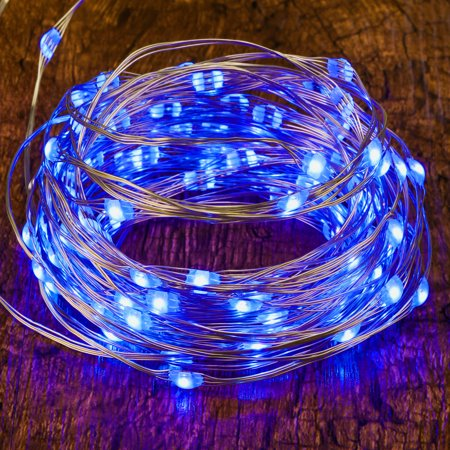 1pc 16 32ft 50 100led Copper Battery Ed Multi Color Changing Fairy String Lights With Remote Control For Indoor Bedroom Christmas Wedding Costume