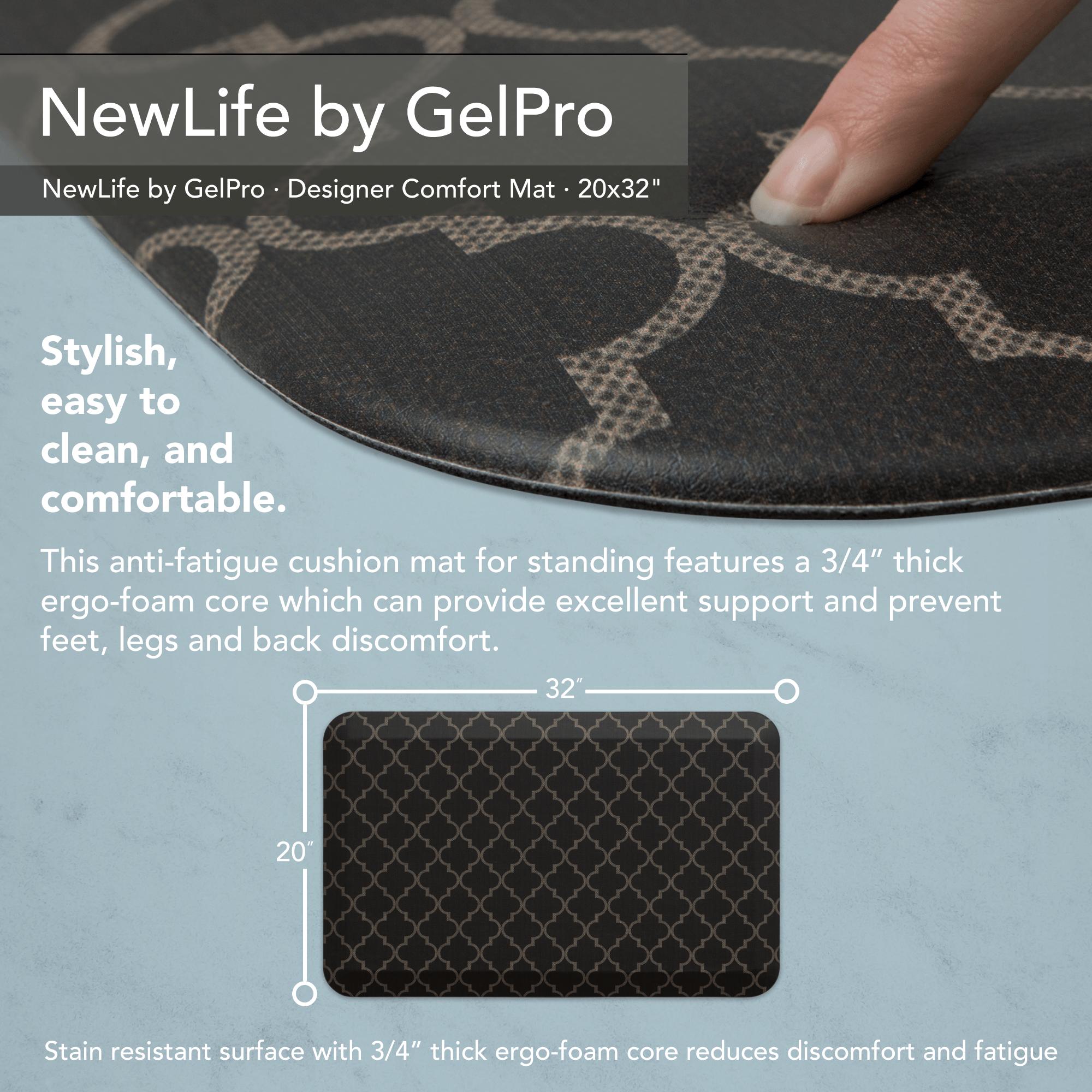 Lattice Java 20 x 48 NewLife by GelPro Designer Comfort Mat