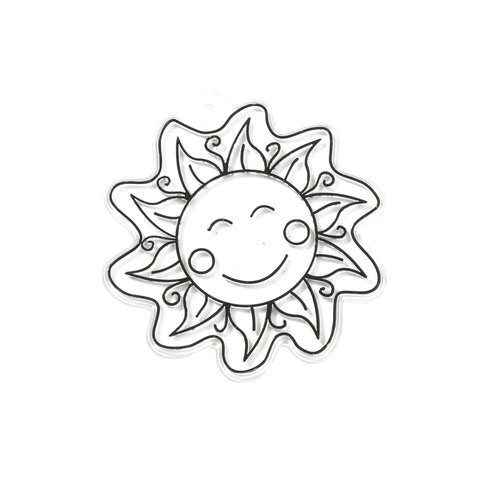 Kids Craft Happy Sunshine Sun Catcher