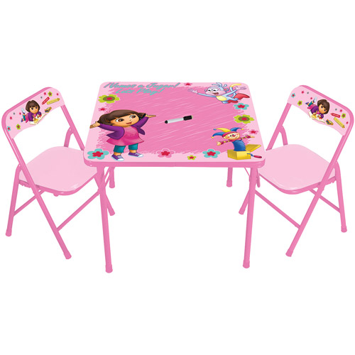 Nickelodeon Dora the Explorer Erasable Activity Table and Chair Set  sc 1 st  Walmart & Nickelodeon Dora the Explorer Erasable Activity Table and Chair Set ...