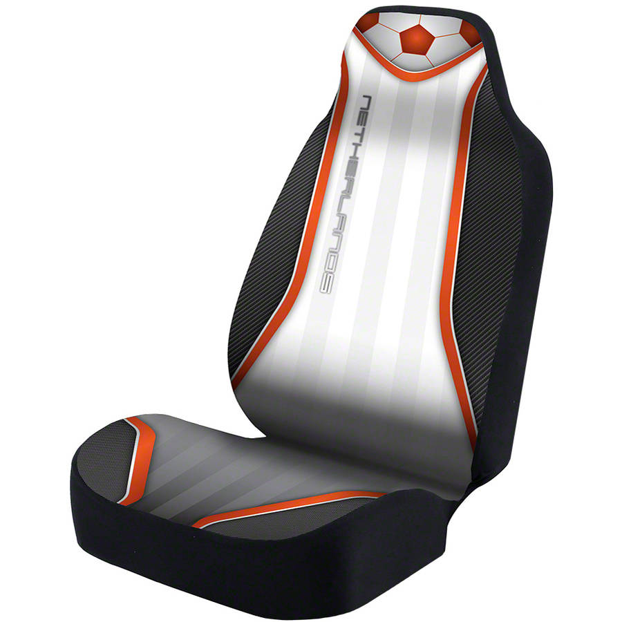 Coverking Universal Seat Cover Designer Ultra Suede, World Cup Netherlands