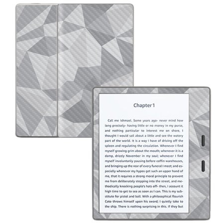 "Carbon Fiber Skin for Amazon Kindle Oasis 7"" (9th Gen) Gray Polygon"