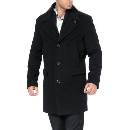 Men's 'Stephen' Cashmere Blend Bibbed Walking Coat Cashmere Mens Sport Coat