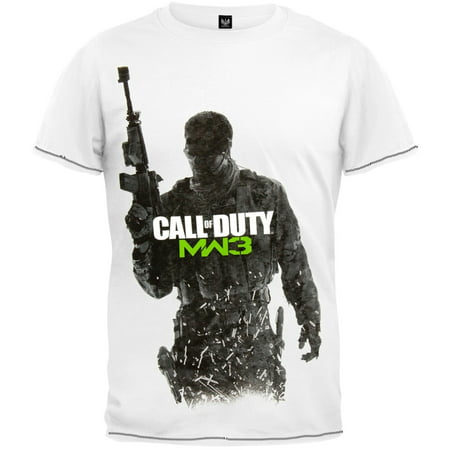 Call of Duty - MW3 Cover Art T-Shirt (Jeep Wrangler Call Of Duty Mw3 Special Edition)