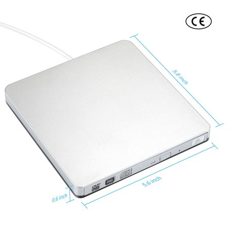 USB 3.0 External CD/DVD RW Drive Burner Writer Reader for Win 10 7 PC Laptop M a c - image 2 of 10