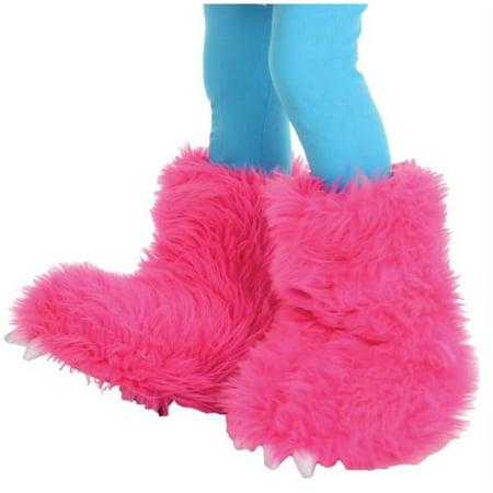 Pink Monster (Morris Costumes UR26120 Monster Boots Hot)