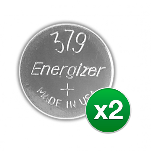 Replacement Battery for Energizer 379VZ (2-Pack) Replacement Battery by Energizer
