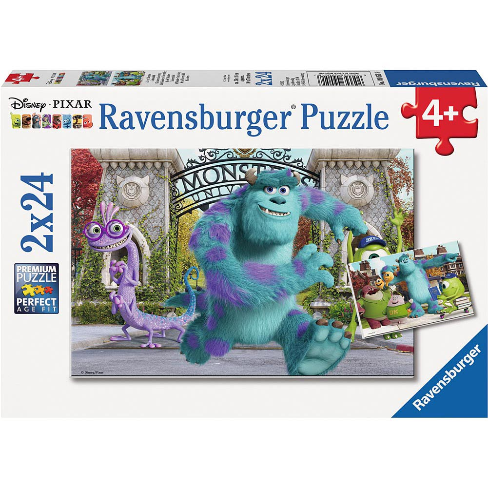 At Monster University 24 Piece Puzzle 2-Pack