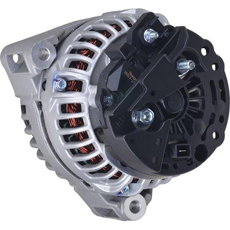 New Alternator for John Deere 7420 1994, 7520 1994 0123515500, 0123515501, 0123515503, 0124615057, 03269108, 1181741, 1182040 150Amp Internal Fan Type Solid Pulley Type Internal Regulator 12V