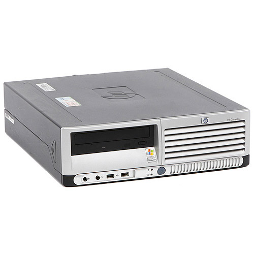 HP Refurbished Black DC5100 Desktop PC with Intel Pentium 4 Processor, 2GB Memory, 160GB Hard Drive and Windows XP Professional (Monitor Not Included)