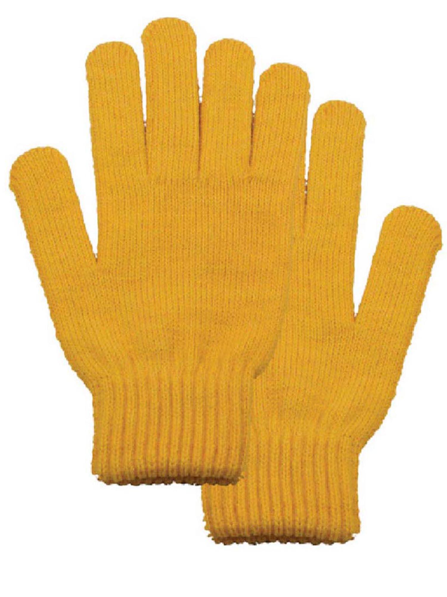 Men and Women's White Winter Gloves