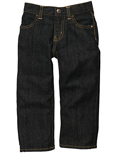 OshKosh B'Gosh Little Boys' Classic RIVER DARK E-Z Jeans- REGULAR-