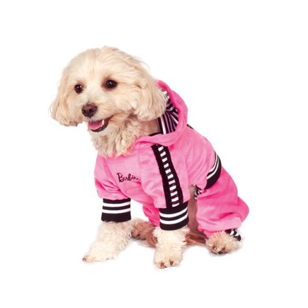 Barbie Sporty Girl Track Suit Dog Pet Costume (Sporty Spice Costume)
