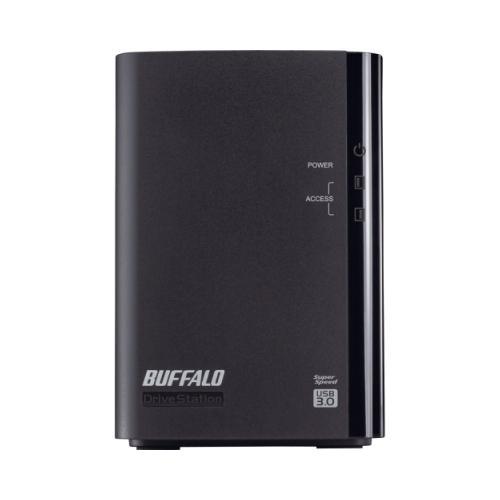 Buffalo DriveStation Duo HD-WL4TU3R1 DAS Array - 2 x HDD Installed - 4 TB Installed HDD Capacity ...