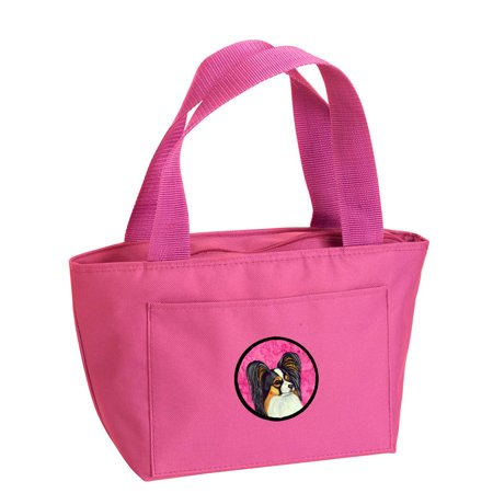Pink Papillon Lunch Bag or Doggie Bag LH9390PK