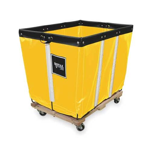 ROYAL G20-YYW-PMA-3UNN Basket Truck, 20 Bu. Cap., Yellow, 48 In. L