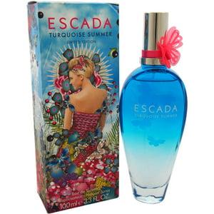 Escada Turquoise Summer Eau de Toilette Spray, 3.3 Oz