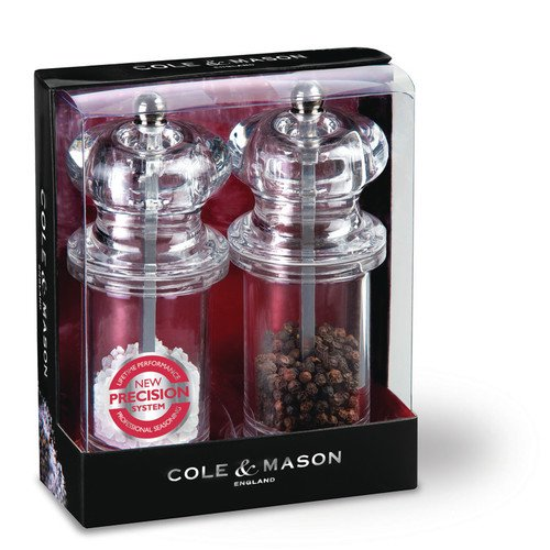 cole mason 2 piece salt and pepper grinder set. Black Bedroom Furniture Sets. Home Design Ideas