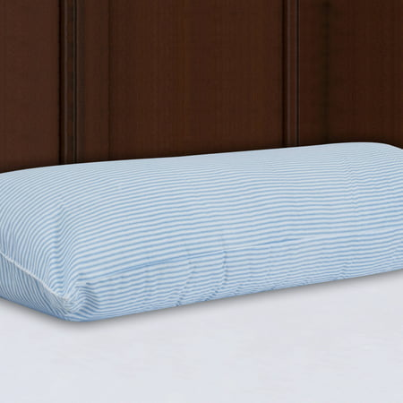 Mainstays HUGE Body Pillow in Blue and White Stripe, 20