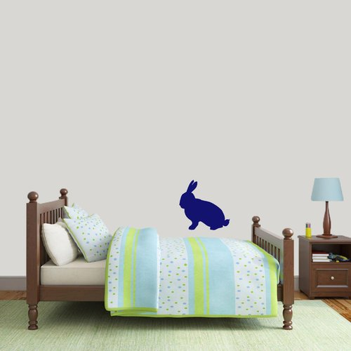Sweetums Wall Decals Rabbit Silhouette Wall Decal