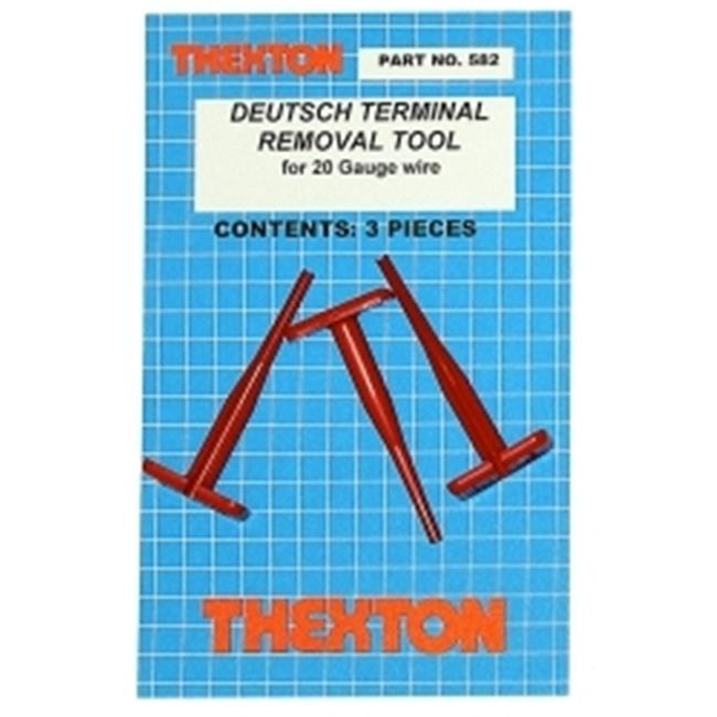 Thexton THX582 Deutsch Terminal Removal Tool for 20 Gauge Wire
