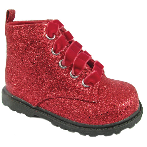 Natural Steps Girl's Toddler Flash Glitter Boot