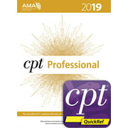 CPT 2019 Professional Codebook and CPT Quickref App Package (Other)