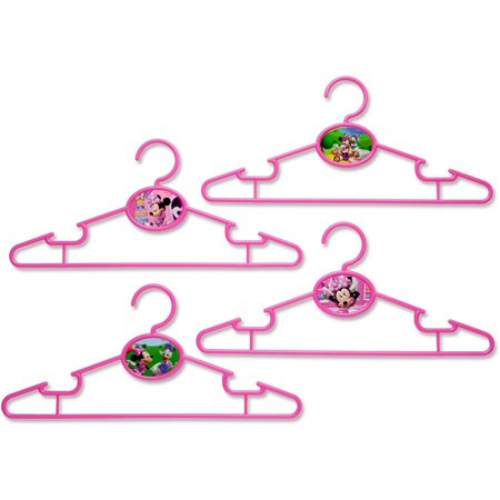 (2 Pack) Disney Minnie Mouse Infant and Toddler Hangers, 30 Pack by Delta Children