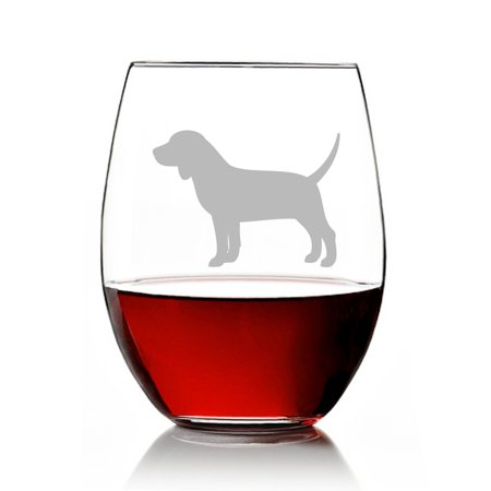 Beagle Dog Breed Engraved Stemless 15oz Wine