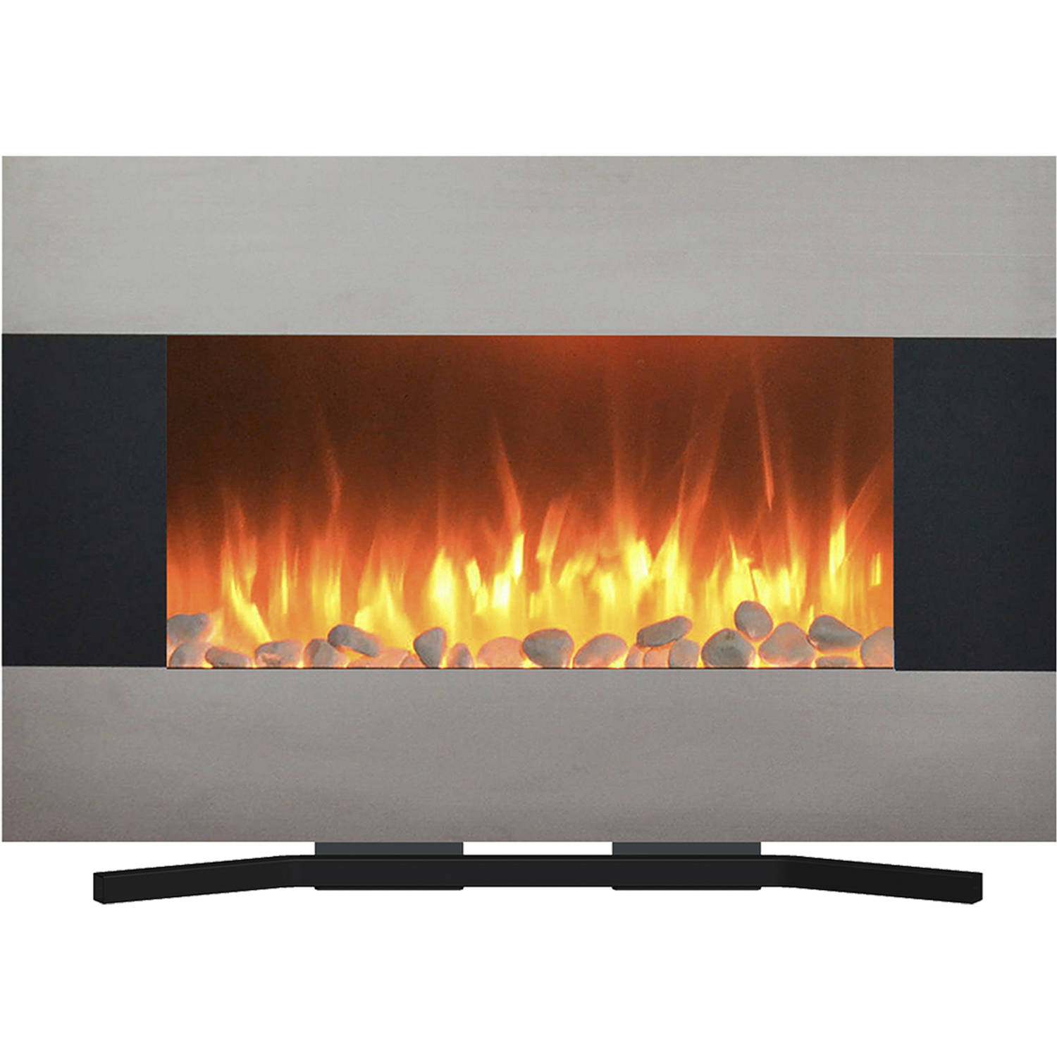 electric wall northwest color hung dual fireplace led reviews pin wayfair