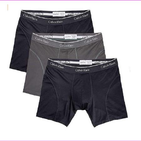 Calvin Klein Boxer Brief Extreme Comfort Breathable Mesh, Size XL, BlackGray Calvin Klein Sport Brief