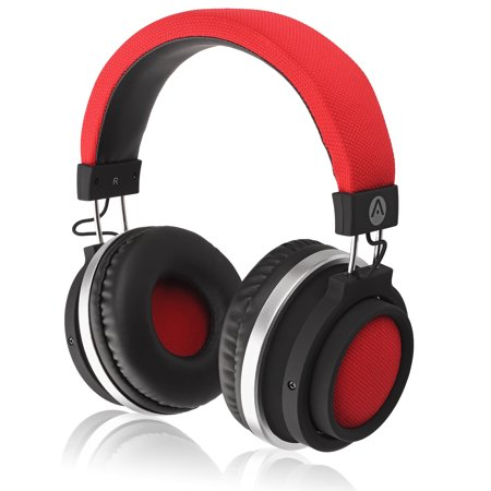 Audiomate BT980 Full-Size Wireless Bluetooth Stereo Over-Ear Headphones w/ Incredible HD Audio and TruBass Enhancement (Thx Audio)