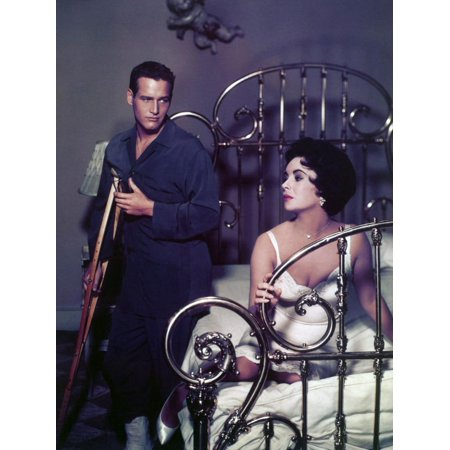 Paul Newman; Elizabeth Taylor. Cat on a Hot Tin Roof