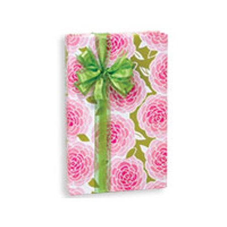 Rose Blossoms Birthday / Special Occasion Gift Wrap Wrapping Paper-16ft Cherry Blossom Wrapping Paper